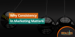 Be consistent in marketing