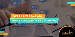 You need engagement on social media