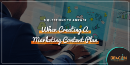 Creating a marketing content plan