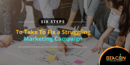 How to fix your marketing efforts