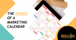 A marketing calendar is a powerful marketing tool